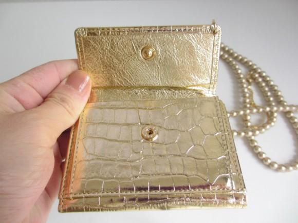 極小財布 ゴールド 小銭入れ