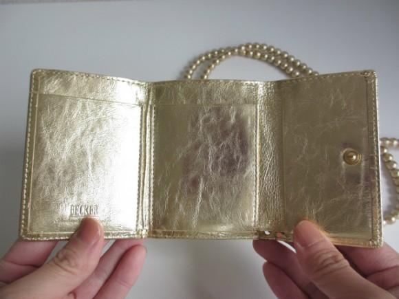 極小財布 内装