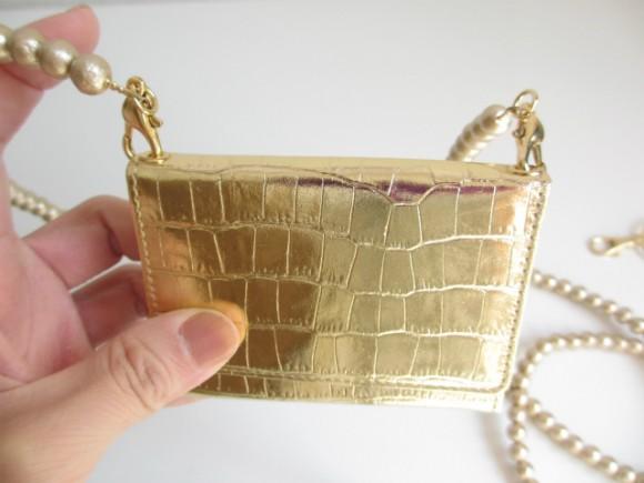 極小財布 ハトメ